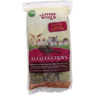 Living World Alfalfa Small Animal Chews, 16-oz bag
