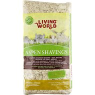 Living World Aspen Shavings Small Animal Bedding, 20-L