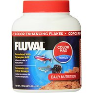 Fluval Norwegian Krill Color Enhancing Flaked Fish Food, 1.23-oz jar
