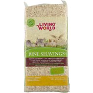 Living World Pine Shavings Small Animal Bedding, 20-L