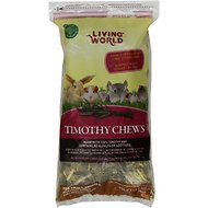 Living World Timothy Hay Small Animal Chews, 16-oz bag