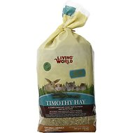 Living World Timothy Hay Small Animal Food, 10-oz bag