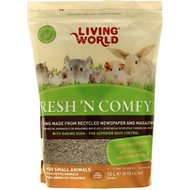 Living World Fresh 'N Comfy Small Animal Bedding, Tan, 10-L