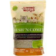 Living World Fresh 'N Comfy Small Animal Bedding, Tan, 20-L