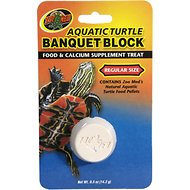 Zoo Med Aquatic Turtle Banquet Block Supplement Treat, Regular