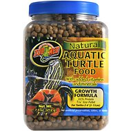 Zoo Med Natural Aquatic Turtle Food, 7.5-oz jar