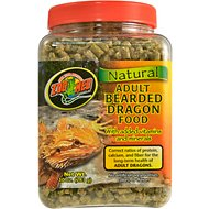 Zoo Med Adult Bearded Dragon Food, 10-oz jar