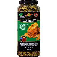 Zoo Med Gourmet Bearded Dragon Food, 15-oz jar