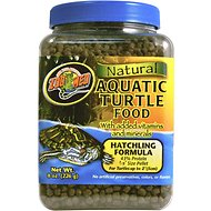 Zoo Med Natural Aquatic Hatchling Formula Turtle Food, 8-oz jar