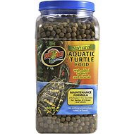 Zoo Med Natural Aquatic Maintenance Formula Turtle Food, 45-oz jar