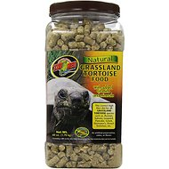 Zoo Med Natural Grassland Tortoise Food, 60-oz jar
