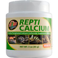 Zoo Med Repti Calcium with D3 Reptile Supplement, 3-oz jar