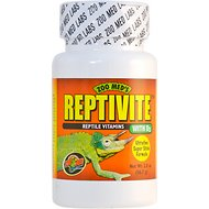 Zoo Med Reptivite with D3 Reptile Vitamin, 2-oz bottle