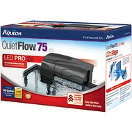 Aqueon QuietFlow Fresh & Saltwater Aquarium Filter, Size 55/75