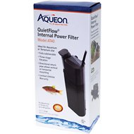 Aqueon QuietFlow Internal Aquarium & Terrarium Internal Power Filter, Small
