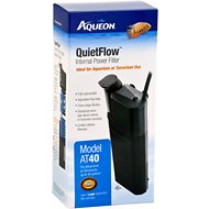 Aqueon QuietFlow Internal Aquarium & Terrarium Internal Power Filter, Large
