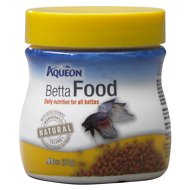 Aqueon Betta Fish Food, .95-oz jar