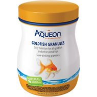Aqueon Goldfish Granule Fish Food, 5.8-oz jar