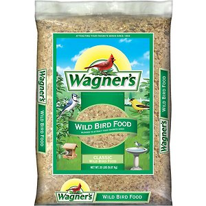 Wagner\\\'s Classic Wild Bird Food, 10-lb bag; Wagner\\\'s Classic Wild Bird Food delivers a high-quality food for a wide range of wild birds to enjoy. This traditional blend is a proven formula that will fill your yard with all sorts of colorful birds. Bird feeding beginners, hobbyists and experts alike can trust Wagner\\\'s all-purpose mix for a superior food made of millet, milo, cracked corn and sunflower seeds that will attract favorite songbirds year-round.
