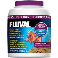 Fluval Cichlid Flakes Fish Food, 2.29-oz jar