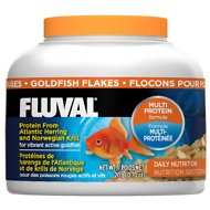 Fluval Multi Protein Formula Goldfish Flake Fish Food, 0.7-oz