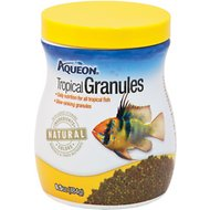 Aqueon Tropical Granules Fish Food, 6.5-oz jar