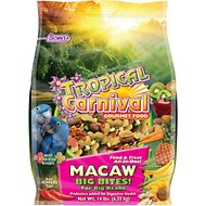 Brown's Tropical Carnival Big Bite Biscuits Macaw Bird Food, 14-lb bag