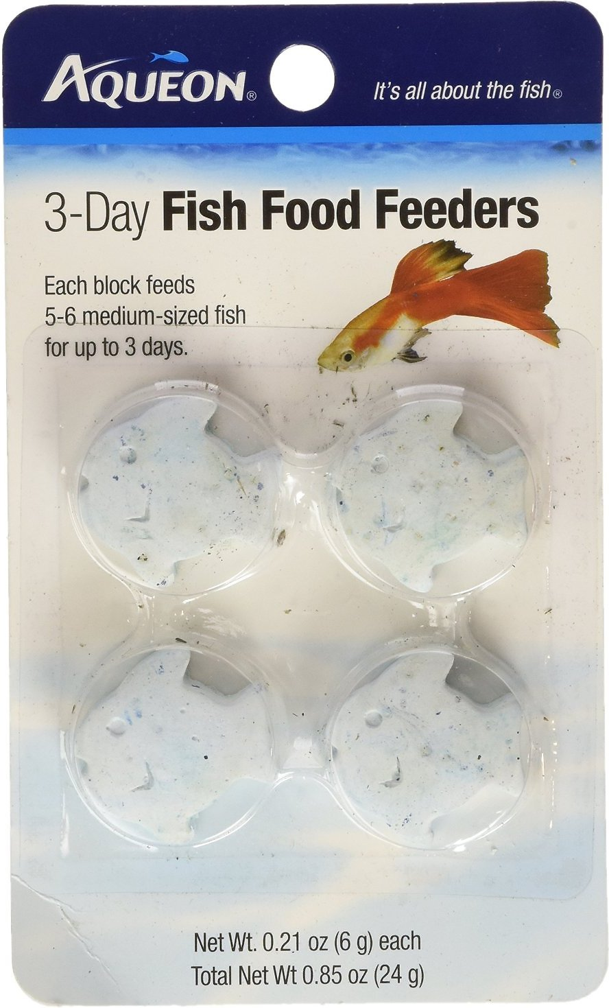 Aqueon tropical freshwater fish food feeder 3 day 4 for Freshwater fish food