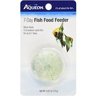 Aqueon Tropical Freshwater Fish Food Feeder, 7-day, 1 count