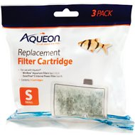 Aqueon Small Bow Filter Cartridge Replacement, 3 count