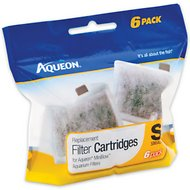 Aqueon Small Bow Filter Cartridge Replacement, 6-count