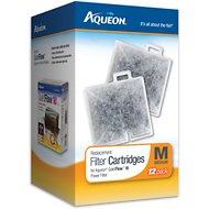 Aqueon Medium Filter Cartridge Replacement, 12-count