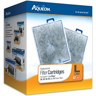 Aqueon Large Filter Cartridge Replacement, 12 count