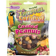 Brown's Tropical Carnival Coated Peanuts Bird Treats, 3.5-oz bag