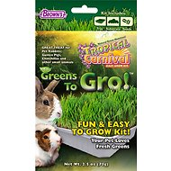 Brown's Tropical Carnival Greens to Gro! Small Animal Treat Kit