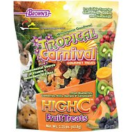 Brown's Tropical Carnival High C Small Animal Treats, 2.25-oz bag