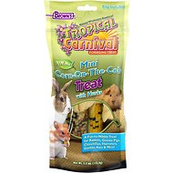 Brown's Tropical Carnival Mini Corn-on-the-Cob with Husks Small Animal Treats, 5.5-oz bag
