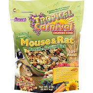 Brown's Tropical Carnival Natural Mouse & Rat Food, 2-lb bag