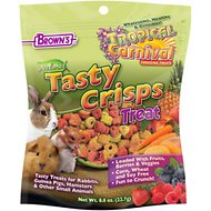 Brown's Tropical Carnival Natural Baked Crisps Small Animal Treats, 0.8-oz bag