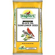 Wagner's Four Season 100% Black Oil Sunflower Seed Wild Bird Food, 20-lb bag