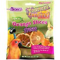 Brown's Tropical Carnival Natural Orange Slices Bird Treats
