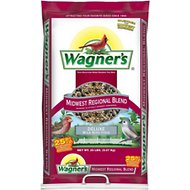 Wagner's Midwest Regional Blend Deluxe Wild Bird Food, 20-lb bag