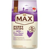 Nutro Max Puppy Recipe with Farm-Raised Chicken Dry Dog Food, 4-lb bag