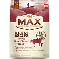 Nutro Max Adult Natural Beef Meal & Rice Recipe Dry Dog Food, 25-lb bag