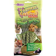 Brown's Tropical Carnival Natural Wheat Sprays Small Animal Treats, 1.5-oz bag