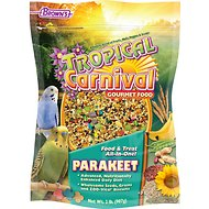 Brown's Tropical Carnival Parakeet Bird Food, 2-lb bag