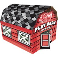 Brown's Tropical Carnival Play Barn with Hay Small Animal Hideout, 3-oz