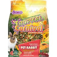 Brown's Tropical Carnival Rabbit Food, 10-lb bag