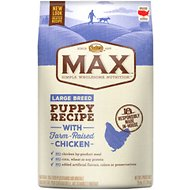 Nutro Max Large Breed Puppy Natural Chicken Meal & Rice Recipe Dry Dog Food, 25-lb bag