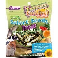 Brown's Tropical Carnival Select Seeds Small Animal Treats, 3.5-oz bag